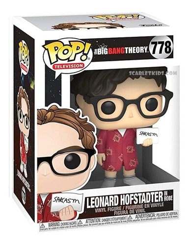Funko Pop Leonard Hofstadter The Big Bang Theory 778 Orig