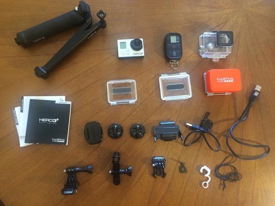 Kit Camera Gopro Hero 3+ Black Edition E Acessórios