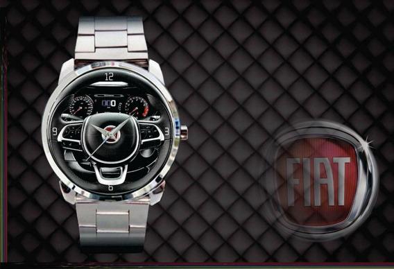 Relógio De Pulso Personalizado Painel Fiat Cronos 2018 2019