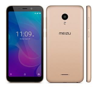 Smartphone Meizu C9 Pro Dourado, Tela 5.45, 3gb + 32gb