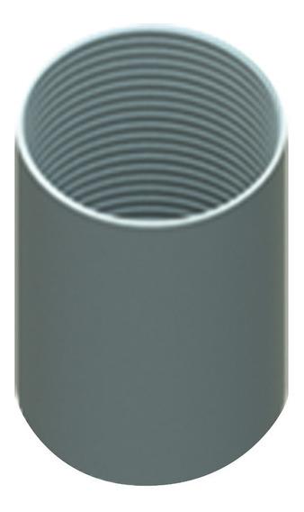 10pz Cople Conduit 3/4 (19mm) Roscagalvanizado Etiq Amarilla