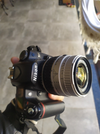 Camera Nikon D80 Com Lente Sigma 28-80mm Macro 1:2