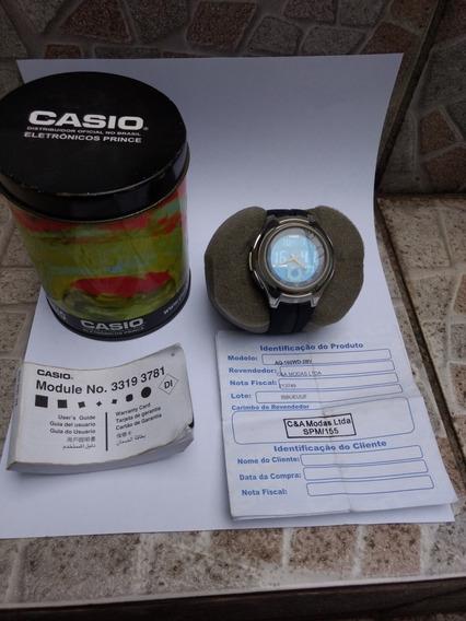 Relógio Casio Aq 160 Original