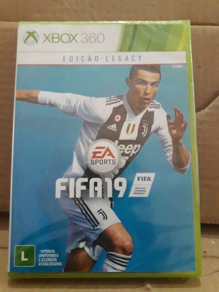 Fifa 19 Xbox 360 Original E Lacrado