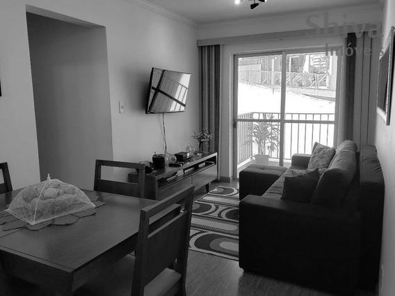 Apartamento Com Móveis Planejados À Venda No Cangaíba - Ap0178