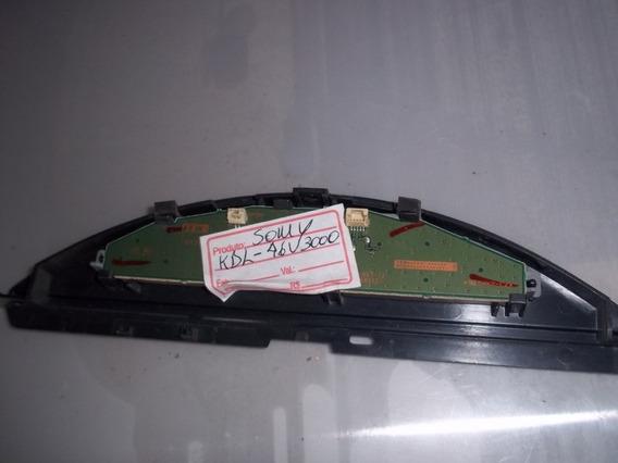 Chave Comando Tv Lcd Sony Kdl-46v3000