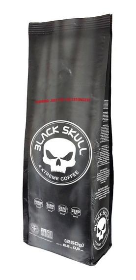 Café 4x Mais Forte - 4xtreme Coffee - Black Skull - Novidade