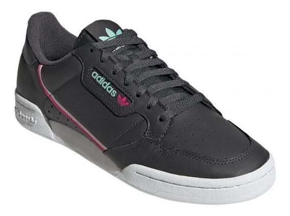 Tênis adidas Originals Continental 80 Cinza - Original