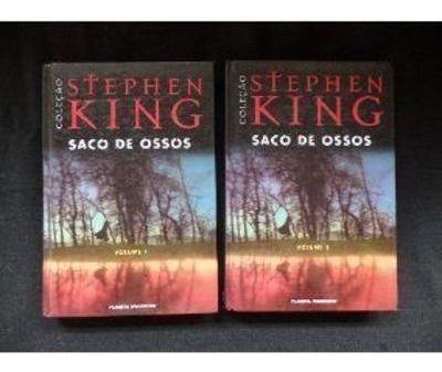 Livro Saco De Ossos 2 Volumes Stephen King