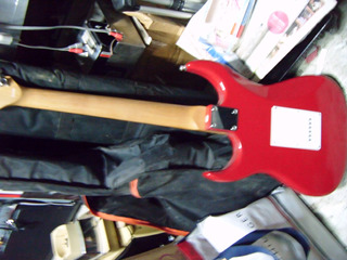 Axl Guitarra Electronica 6 Cuerdas Exquisita Roja