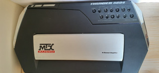 Planta Mtx Audio Thunder Ta5604 600watts 4 Canales Usada .