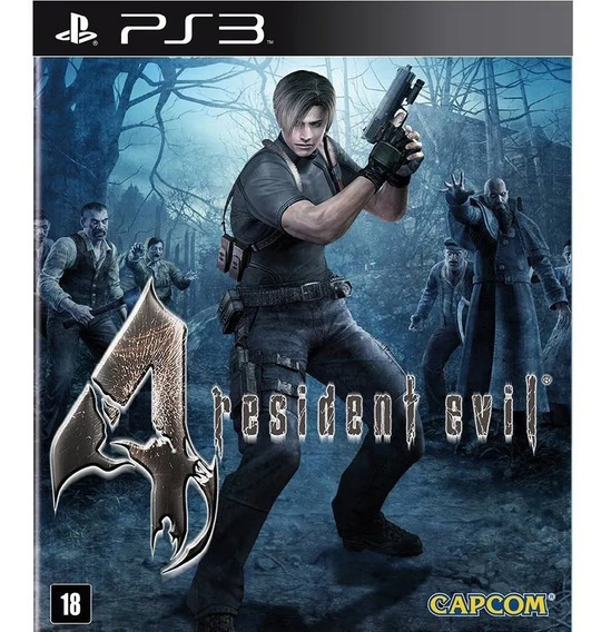 Resident Evil 4 Ps3 Midia Digital Psn Envio Ja - Imperdivel