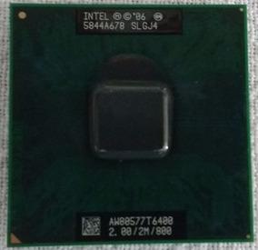 Processador Dual Core 2.20 2m 800 Aw80577 T5800 Socket 478