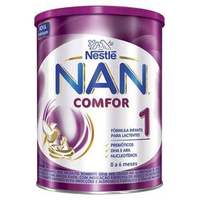 Kit 2 Leite Nan Comfor 1 - 800g - Nestlé