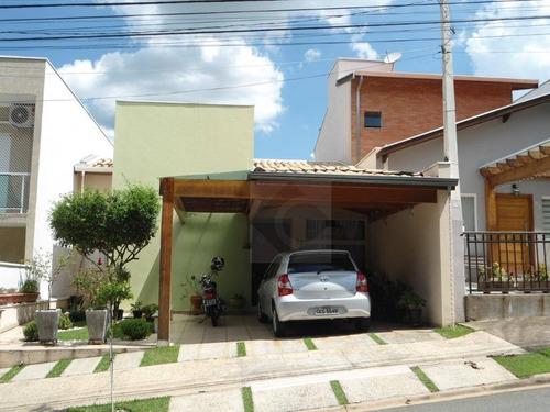 Casa Com 3 Dormitórios À Venda, 110 M² - Condomínio Villágio De Itaici - Indaiatuba/sp - Ca1479