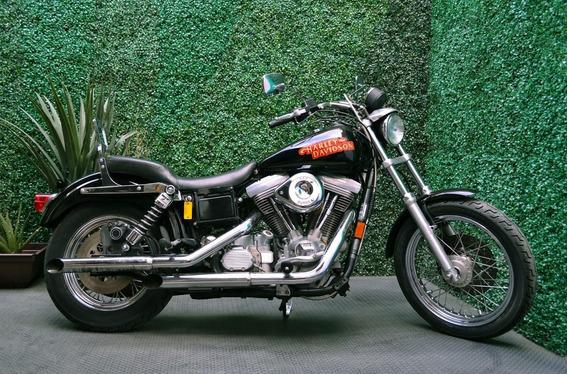 Harley Davidson Dyna 1340cc Motor Evo Sin Fallas