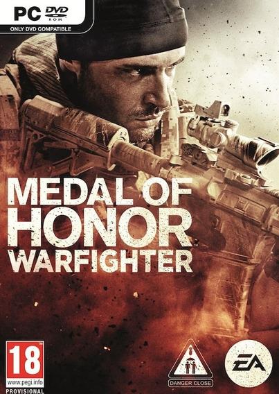 Medal Of Honor Warfighter Pc Original Frete Gratis!!