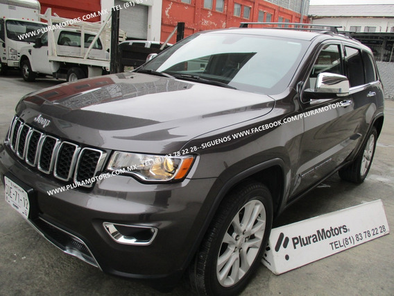 Jeep Grandcherokee Limited 2017 Automatica Piel Gps $499,000