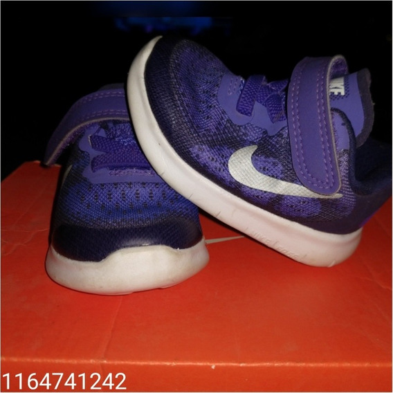Zapatillas Nike Free Niña Talle 18