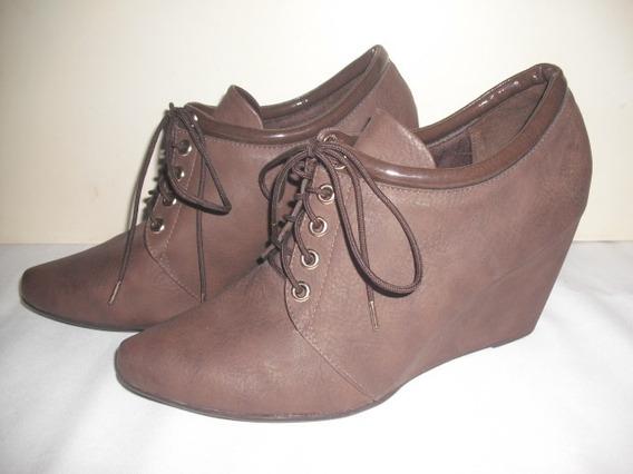 Sapato Casual Sneacker Marrom Piccadilly 39 Sintético