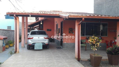 Casa Residencial À Venda, Centro, Maricá. - Ca3123
