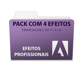 Pack Com 4 Efeitos De Flash - Adobe Premiere