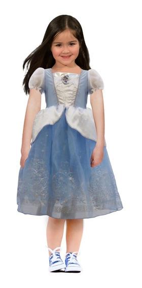Disfraz De Cenicienta Disney Princesa Niña