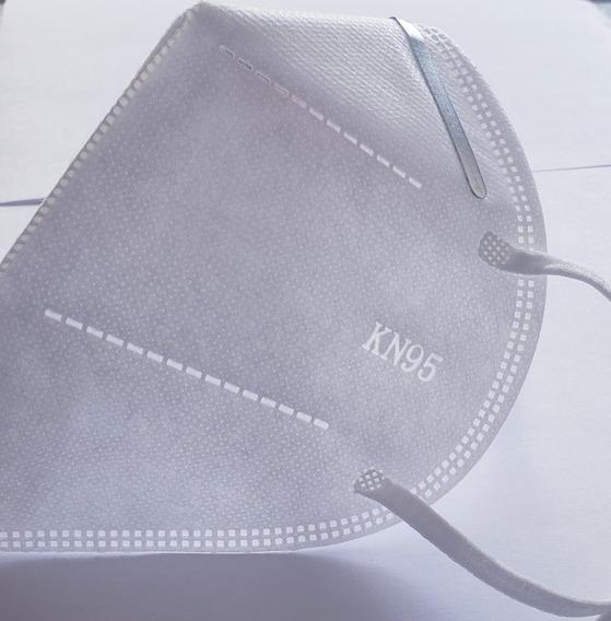 Cubrebocas Mascarilla Kn95 N95 4 Capas Pieza Individual