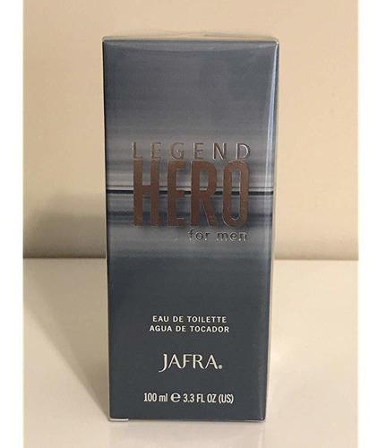 Jafra Legend Hero Eau De Toilette 3.***** Oz Para Hombres