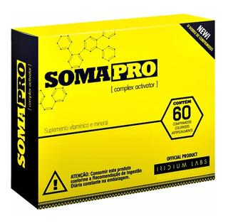 Somapro Iridium Labs Agora É Soma Pro 60 Cápsulas Zma + Nf