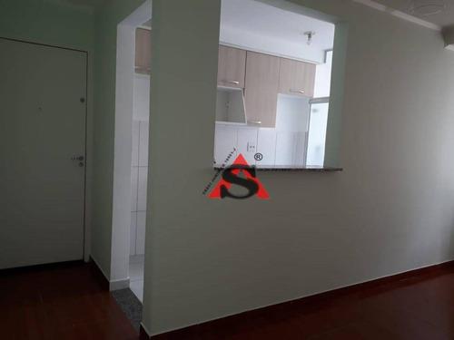 Apartamento Com 2 Dormitórios À Venda, 50 M² Por R$ 220.000,00 - Saúde - São Paulo/sp - Ap43554