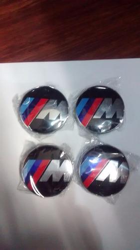 Logo Ruedas Serie M, Bmw Nuevas 6,8 Cms Diametro