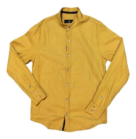 Oferta Camisa Para Caballero Marca Polo Cuello Mao