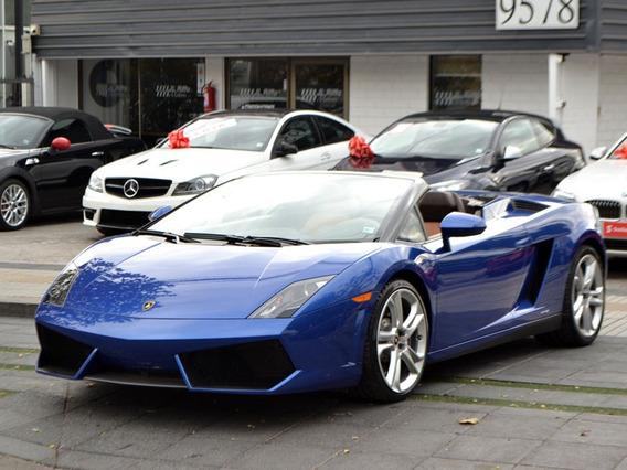 Lamborghini Gallardo Spyder 5.0 2013