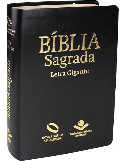 Bíblia Nova Almeida Atualizada - Letra Gigante - Luxo