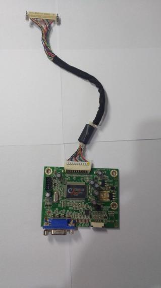 Placa De Video Monitor Dell E178fpc Led-cabo Flat.(sucata)
