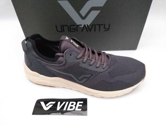 Tênis Vibe Shoes Zephyr Cinza Ungravity Sneaker Original