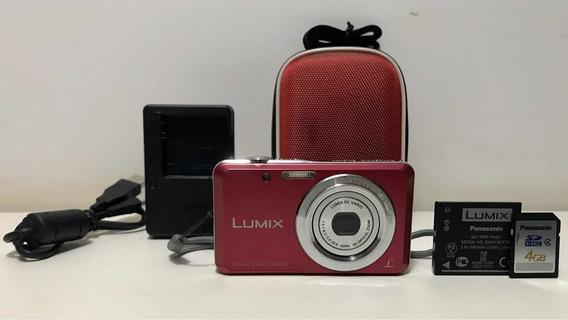 Câmera Panasonic Lumix Dmc-fh4 14,1 Mp