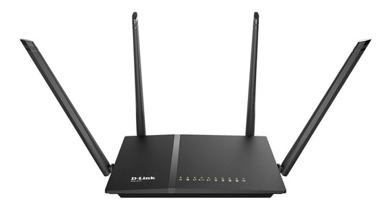 Roteador Wireless Dlink Ac 1200mbps Dual Band 4 Ant Dir815