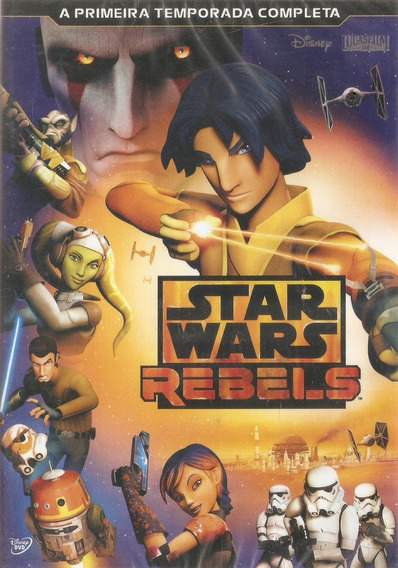 Dvd Star Wars - Rebels - Novo Lacrado**