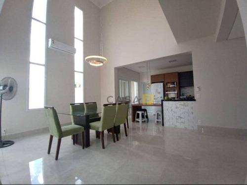 Casa Com 3 Dormitórios À Venda, 258 M² Por R$ 1.450.000,00 - Residencial Pau Brasil - Americana/sp - Ca1049