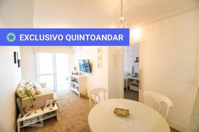 Apartamento No 5º Andar Mobiliado Com 1 Dormitório E 1 Garagem - Id: 892935933 - 235933