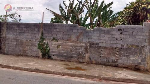 Terreno Residencial À Venda, Jardim Cinira, Itapecerica Da Serra. - Te0061
