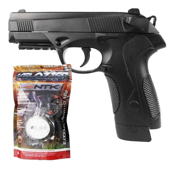 Airsoft Pistola Vg Px4 2019 Mola 6mm + Esferas Bbs