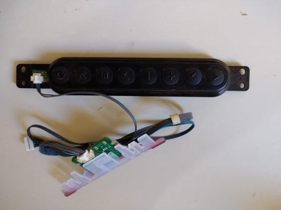 Placa De Botões Com Sensor Controle Remoto Da Tv LG 32ln5400