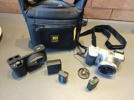 Máquina Fotográfica Profissional Sony A6000