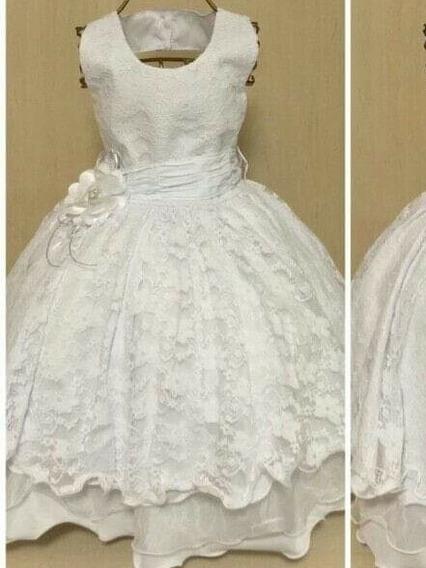Vestido Infantil Daminha Batizado