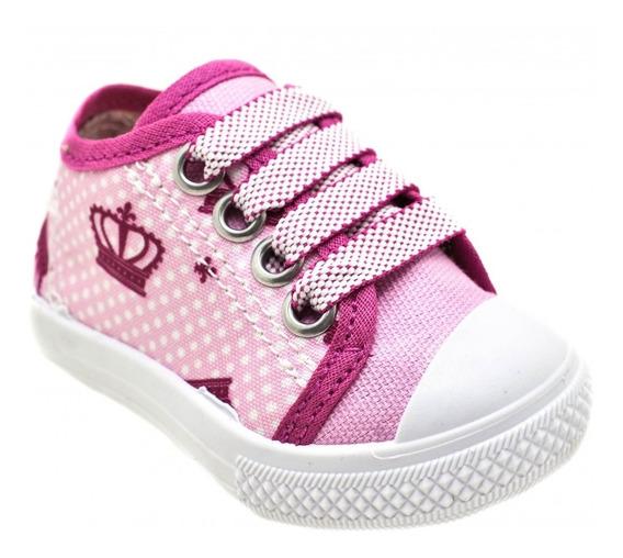Tênis Infantil Feminino Botinho Fashion Kids B214d