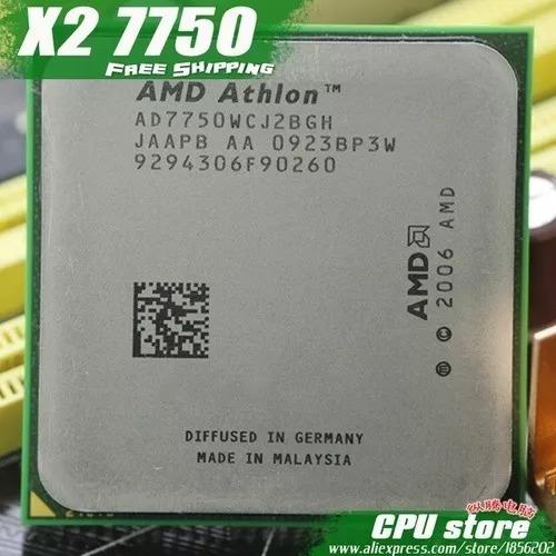 Processador Dual Core 7750 2.7ghz Am2+testado 100% Ok