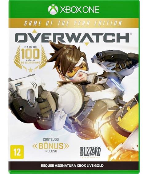 Overwatch Xbox One Midia Fisica Cd Novo Nacional Promoção